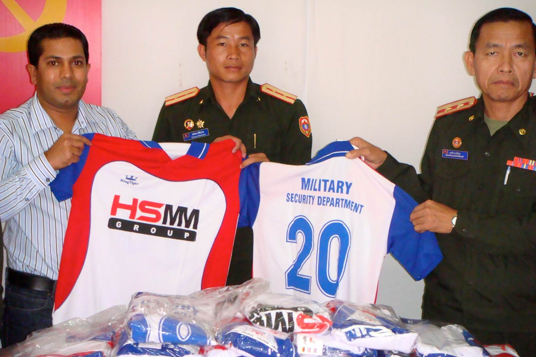 Sponsoring sports events (Ministry of Defence, Lao PDR)