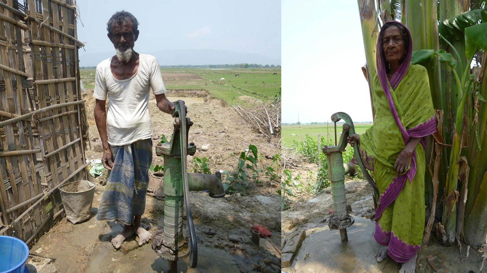 Hand-pumps for drinking water (Assam, India)