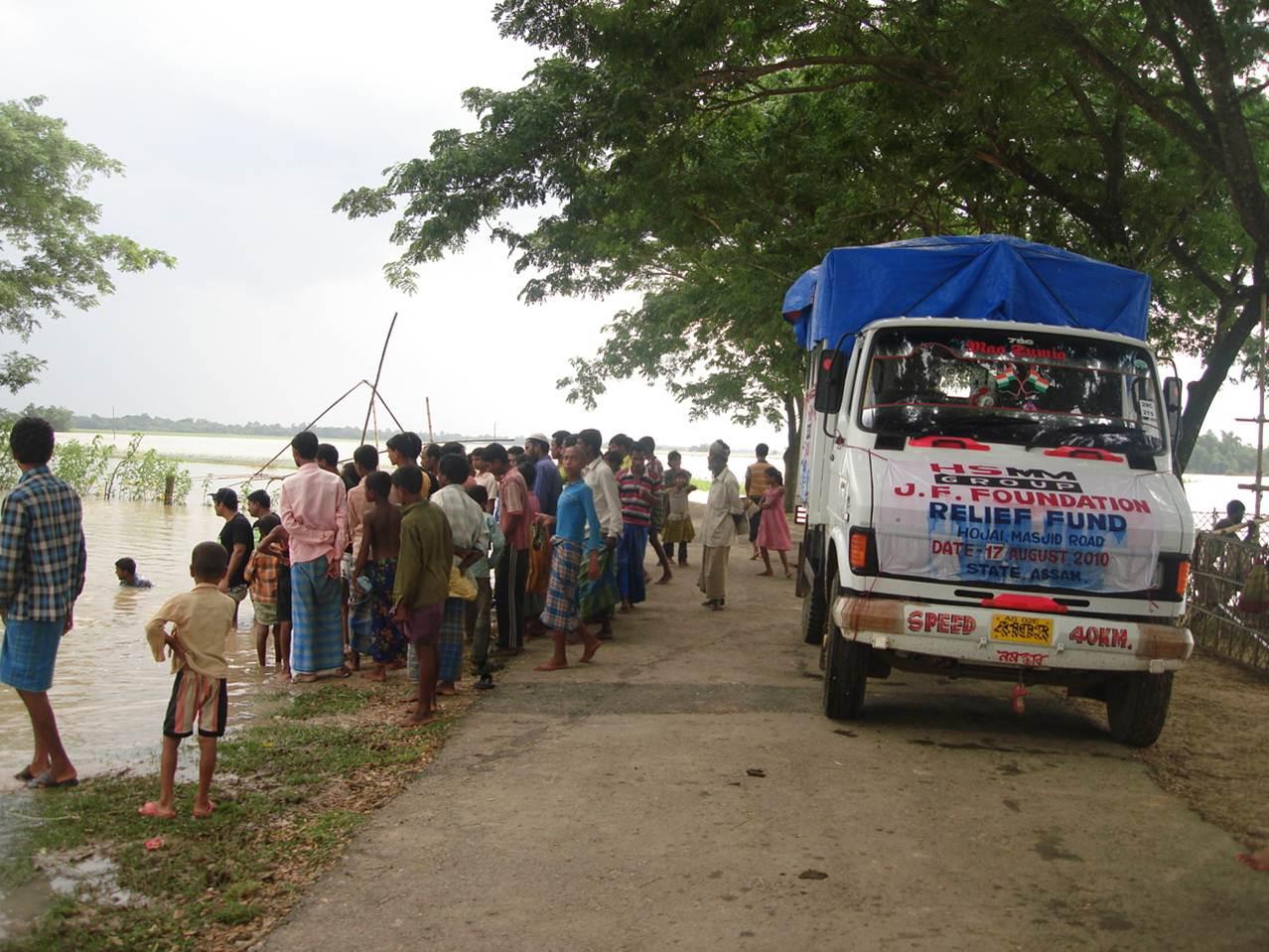 Flood Relief (Assam, India)