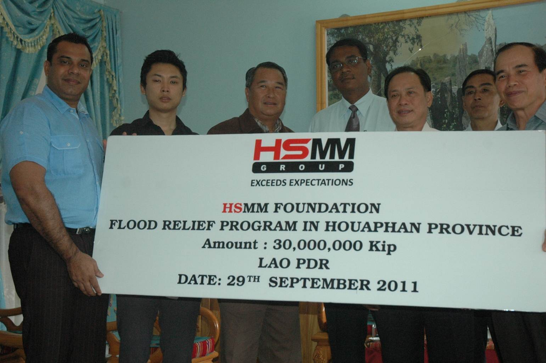 Flood Relief (Houaphan Province)