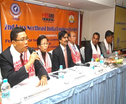Dr. Kikeo CHANTHABOURY at Business Forum in Guwahati – Assam, India