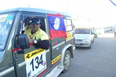 Mr. Habib Mohammed Chowdhury participating In Hornbill Car Rally Nagaland, India 2010 on behalf of Lao PDR
