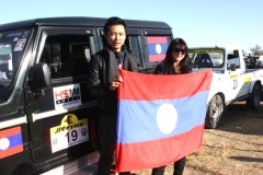Mr. Apong Longkumer, GM Corporate Services, HSMM Group participated In Hornbill Car Rally Nagaland, India 2011 on Behalf of Lao PDR