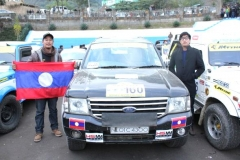 Mr. Sonam Inoka Khulu, Manager Operations, HSMM Group participated In Hornbill Car Rally Nagaland, India 2012 on behalf of Lao PDR