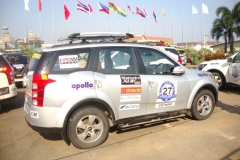 HSMM Group was national sponsor for ASEAN India Car Rally 2012 in Lao PDR-8 Dec 2012