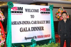 MR. Apong Longkumer, GM Corporate Services, HSMM Group at ASEAN India Car Rally 2012 Gala Dinner, Donchan Palace Hotel, Vientiane, Lao PDR-sponsored by HSMM Group on 9 Dec 2012