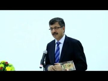Dr. Rajeev Singh, Director General of ICC Kolkata at India Investrade 2016, Vientiane, Lao PDR