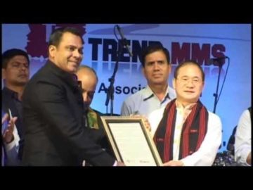 Mr. Habib received the North East Iconic Figure Award at North East Festival, Delhi, India
