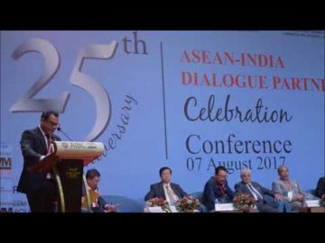 Mr. Habib Mohammed Chowdhury at The 25th Anniversary Celebration Conference