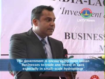 Interviews of Indian Chamber of Commerce President and LNCCI VP, INDIA-LAO PDR Business Seminar